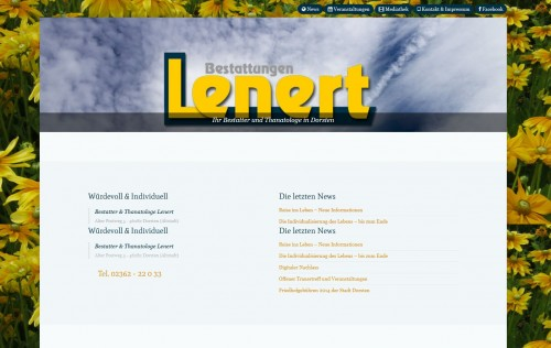 Firmenprofil von: Bestattungen Lenert in Dorsten