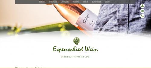 Firmenprofil von: Ihr Weingut in Bad Kreuznach – Espenschied Wein