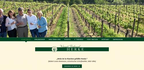 Firmenprofil von: Leckere Weine genießen im Weingut Ferdinand Herke & Sohn in Oestrich-Winkel