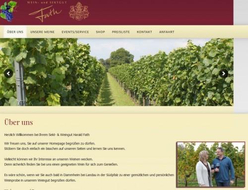 Firmenprofil von: Pfälzer Weingut Fath in Landau