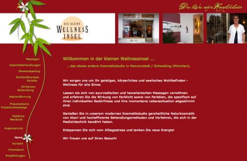 Firmenprofil von: Die kleine Wellnessinsel – Kosmetik und Wellness in Maxvorstadt / Schwabing (München)