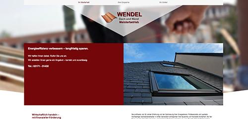 Firmenprofil von: Meisterbetrieb Wendel Dach und Wand: Professioneller Dachdecker in Leverkusen