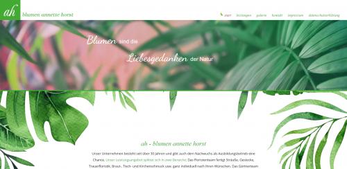 Firmenprofil von: Die perfekte Adresse für Floristik in Wesel: Blumen Horst