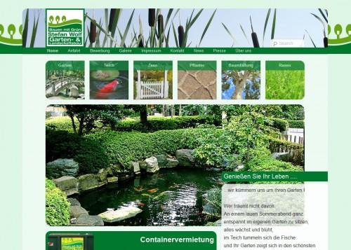 Firmenprofil von: Stefan Wolf Landschaftsbau & Gartengestaltung in Sillenstede