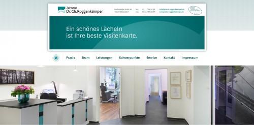 Firmenprofil von: Zahnarzt in Düsseldorf: Dr. Ch. Roggenkämper