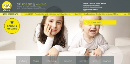 Firmenprofil von: Ihr Facharzt für Implantologie in Bochum – Dr. Robert Winking