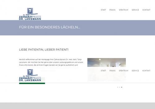 Firmenprofil von: Ästhetischer Zahnersatz - Zahnarztpraxis Dr. Lansmann in Rheine