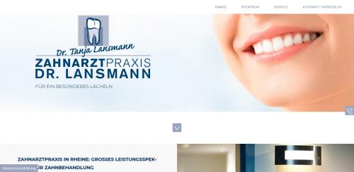 Firmenprofil von: Zahnarztpraxis Dr. med. dent. Tanja Lansmann: Ihre Zahnärztin in Rheine