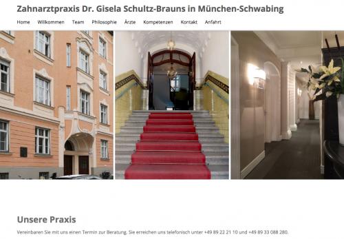 Firmenprofil von: Zahnarztpraxis Dr. Gisela Schultz-Brauns in München