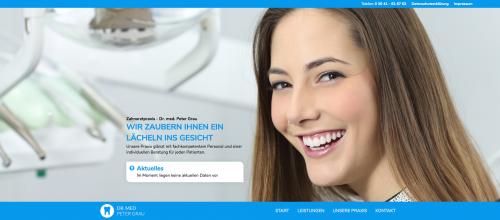 Firmenprofil von: Zuverlässiger Zahnarzt in Jena: Zahnarztpraxis Doktor Peter Grau
