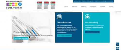 Firmenprofil von: Ihr Experte für Zahnspangen - Kieferorthopädische Fachpraxis Schwerbrock in Ingolstadt