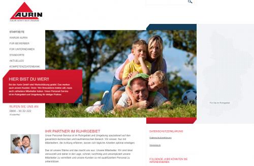 Firmenprofil von: Zeitarbeit im Ruhrgebiet: Chancen auf dem Arbeitsmarkt dank der Aurin GmbH