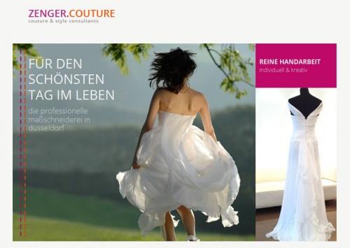 Firmenprofil von: Zenger Couture in Düsseldorf