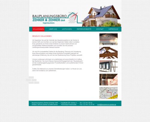 Firmenprofil von: Bauplanungsbüro Zenker in Bad Freienwalde