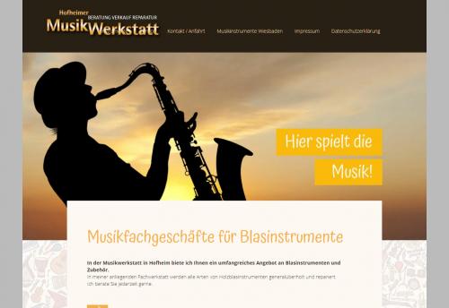 Firmenprofil von: Zubehör für Instrumente: Rüdiger Sax-Service