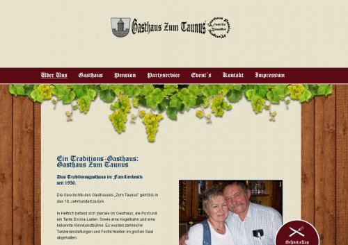 Firmenprofil von: Gasthaus zum Taunus in Idstein