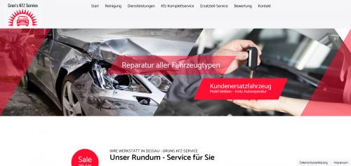 Firmenprofil von: Zuverlässige Autoreparatur in Dessau: Grun's KFZ-Service