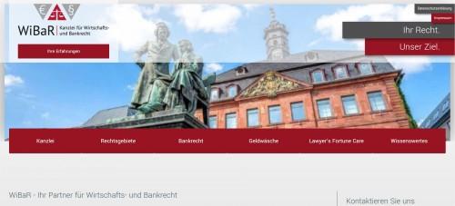 Firmenprofil von: Kanzlei WiBaR: Ihr Ansprechpartner für alle Fragen zum Zwangsversteigerungs-recht in Hanau