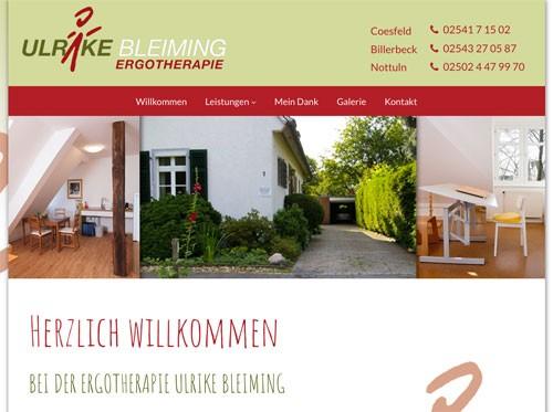 Firmenprofil von: Ergotherapie Ulrike Bleiming in Coesfeld, Billerbeck, Nottul