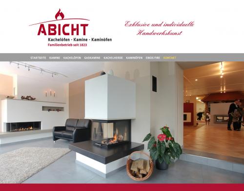 Firmenprofil von: Kamine und Kachelöfen in Leipzig: Abicht Kachelöfen