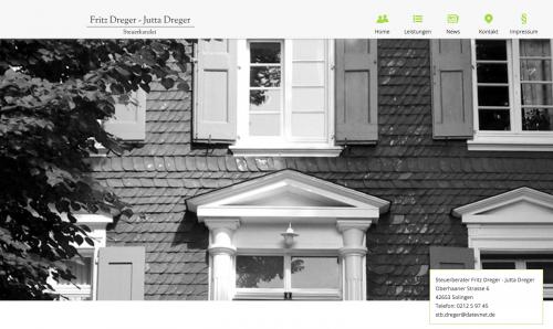 Firmenprofil von: Steuerkanzlei Fritz Dreger – Jutta Dreger in Solingen