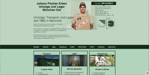 Firmenprofil von: Umzüge in München: Johann Fischer Erben GmbH