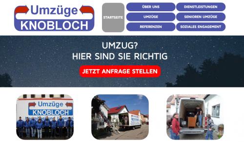 Firmenprofil von: Umzüge Knobloch in Karlsruhe: Umzüge ohne Grenzen