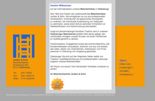 Firmenprofil von: Wärmedämmung in Oldenburg - Malerfachbetrieb Janßen & Sohn