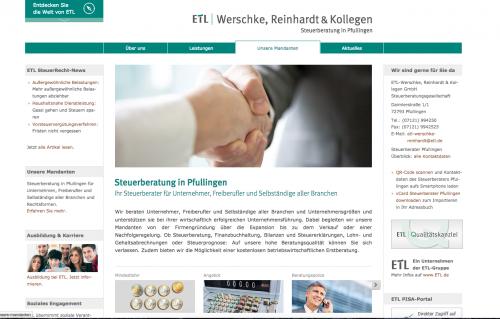 Firmenprofil von: Zuverlässige Steuerberatung im Umfeld von Reutlingen