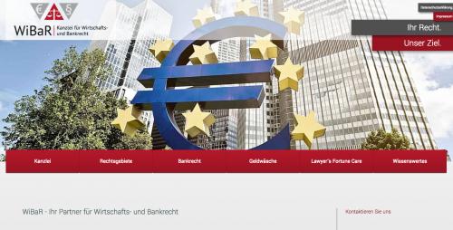 Firmenprofil von: Anwaltskanzlei WiBaR für Bankrecht in Hanau