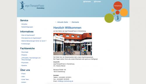 Firmenprofil von: ergoTherapiePraxis in Oranienburg