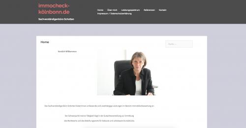Firmenprofil von: Immobiliengutachter für Bonn und Umgebung – Sachverständigenbüro Schotten