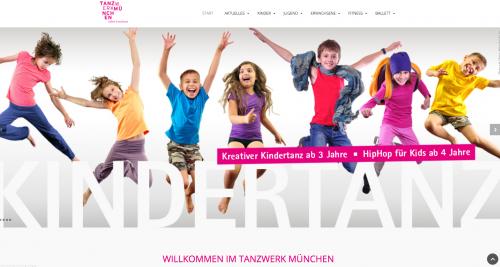 Firmenprofil von: Tanzen für Groß und Klein – Tanzwerk München