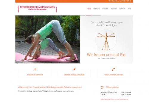 Firmenprofil von: Für einen gesunden Körper – Physiotherapie Heinemann in Quickborn