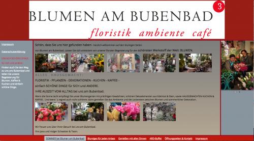 Firmenprofil von: Blumen am Bubenbad in Stuttgart