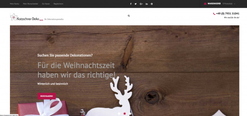 Firmenprofil von: Dekoration für jeden Anlass bei Katzschner Deko GmbH