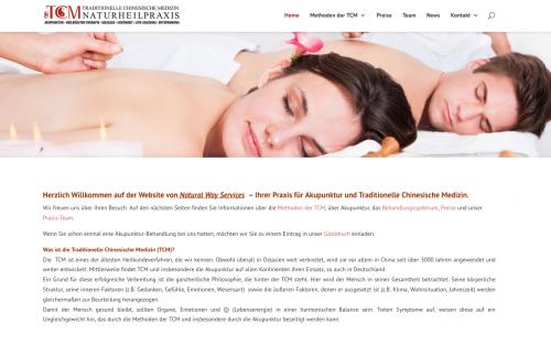 Firmenprofil von: Natural Way Services - TCM Praxis in Düsseldorf