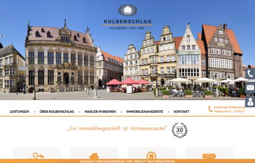 Firmenprofil von: Immobilienbüro in Bremen: Kolbenschlag Immobilien