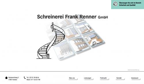 Firmenprofil von: Schreinerei Renner in Krefeld - Vormals Schreinerei Blumenkamp