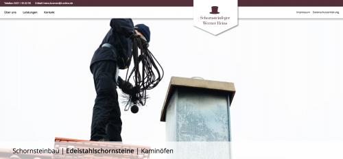 Firmenprofil von: Schornsteinbau in Bremen – Schornsteinfeger Werner Heins