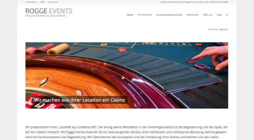 Firmenprofil von: Firmenevents in Hamburg: Rogge Events