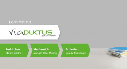 Firmenprofil von: ViaDuktus: Nachhilfe in Euskirchen