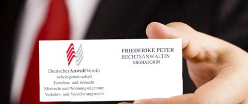 Firmenprofil von: Den richtigen Ansprechpartner für das Mietrecht - Kanzlei Friederike Peter in Mainz