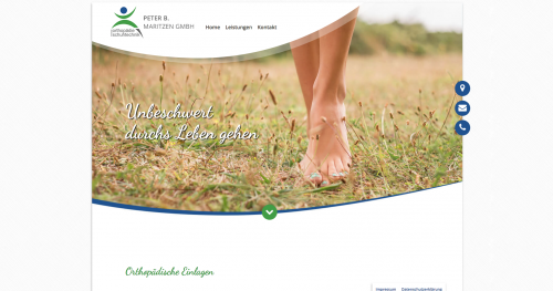 Firmenprofil von: Hilfe bei überlasteten Füßen: Orthopädische Einlagen von Schuhtechniker Peter Maritzen aus Essen