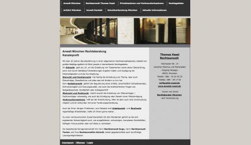 Firmenprofil von: Ein zuverlässiger Rechtsanwalt: Kanzlei Vasel in München