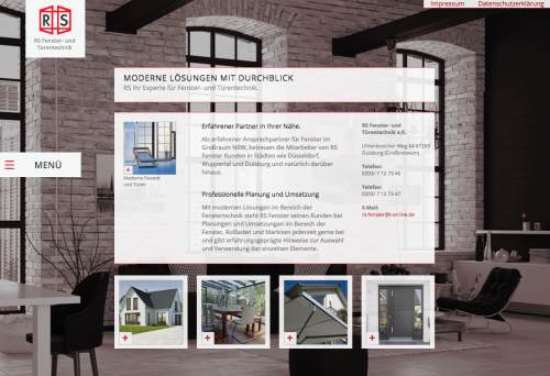 Firmenprofil von: Sichere Rollläden von RS Fenster- und Türentechnik e.K. in Duisburg