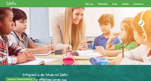 Firmenprofil von: Idefix- Institut für effektives Lernen in Oldenburg