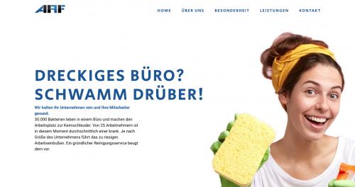 Firmenprofil von: ARF Allgemeine Reinigungstechnik und Fußbodenspezialreinigung GmbH – Professionelle Gebäudereinigung in Berlin