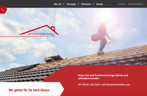 Firmenprofil von: Dachdeckermeister Hans-Jürgen Stephan in Brandenburg – für ein schadenfreies Dach