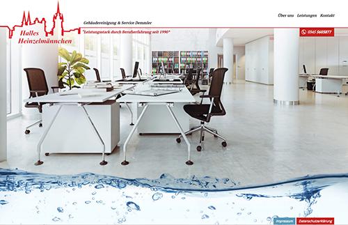 Firmenprofil von: Gebäudereinigung & Service Demmler in Halle Halles Heinzelmännchen